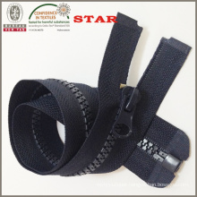 Black Plastic Zipper for Women Bags (#5)