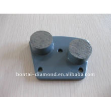 diamond trapezoid plates for concrete grinding