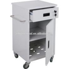 medical bedside locker with castors