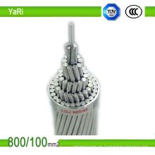 Base de acero aluminio trenzado Conductor Mcm ACSR 477
