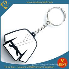 High Quality Wholesale Promotional Taekwondo Cloth Rubber Soft PVC Key Chain as Souvenir