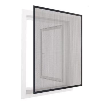 DIY aluminum insect screen frame window
