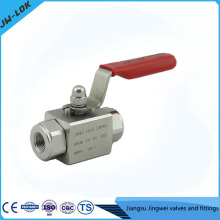 China best-selling SS high Pressure oil and gas ball valve