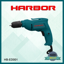Hb-ED001 Harbour 2016 Hot Vendendo Jardim Broca Electric Straight Electric Drill