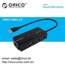 ORICO HR02-U3 USB 3.0 à 10/100/1000 Gigabit Ethernet Réseau Adaptateur réseau