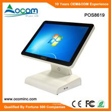 POS8619 Pantalla táctil multifuncional de la máquina de la posición del tacto de 15 pulgadas disponible para la caja registradora