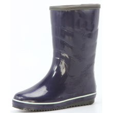 Women's Middle Winter Sponge Lining Rubber Rain Boots