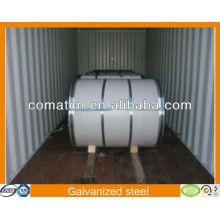 Galvanizado de alta qualidade Aluzinc bobina de aço AZ100g/m2, aço Galvalume, planta de China