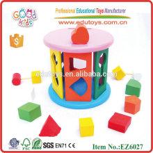 Producto de madera del bebé del juguete