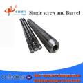 OEM accept single bimetallic extruder screw barrel from Chinese supplier