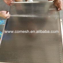 Stainless steel wire mesh kitchen cooking trays