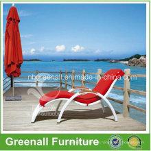 Rattan Piscina Chaise Lounge Elegante
