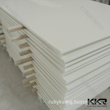 white artificial stone solid surface sheet