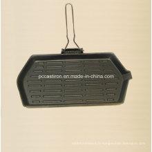 Preseasoned Cast Iron Gill Pan Fabricant De Chine