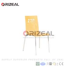 cadeira de jardim barata empilhável design moderno metal OZ-1036