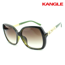 Colorful High quality custom logo female AC lenses sunglasses glasses 2017