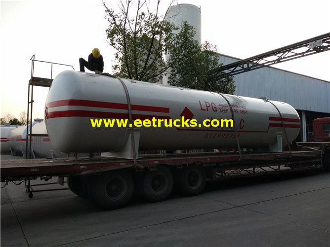 LPG Gas Station Tanks