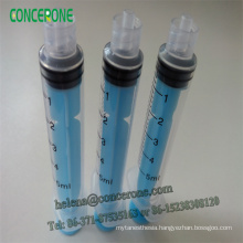 5ml Luer Lock Plastic Colored Syringe