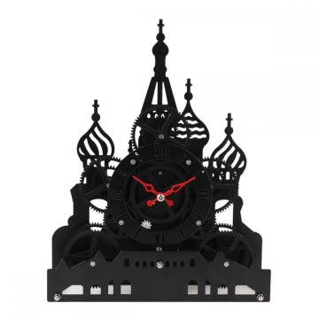 Jam Meja Gear Red Square