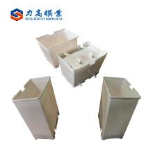 Moulage de poubelle d'injection en plastique de prix bas de haute qualité, moulage de poubelle de poubelle