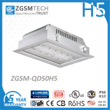 Zgsm Tech 50W Gas Station Canopy LED Lighting with Ce RoHS