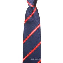 Großhandel Klassische Streifen Perfekte Hals Knoten Mens Silk Ties