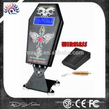 Adshi Coffin Hurricane tatuagem fonte de alimentação com pedal sem fio