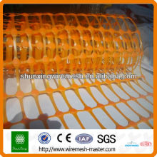 Orange HDPE Security Alert net