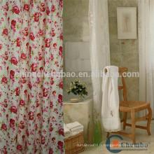 Rideau de douche personnalisé en polyester de Chine fournisseur