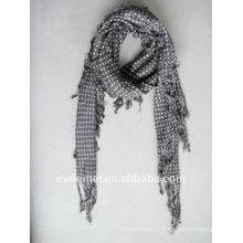 Вискозные точки печатать простой квадратный шарф завод