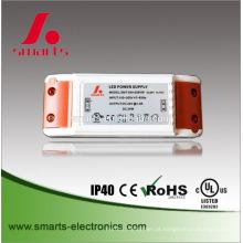 tipo magro fonte de alimentação do motorista do diodo emissor de luz da tensão constante do tipo 12V 2A 24W mini