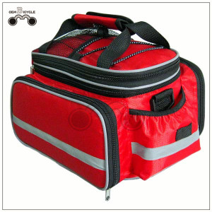 Mountain bicycle rear rack bag bike camel bag with large capacity waterproof suitable for long distance