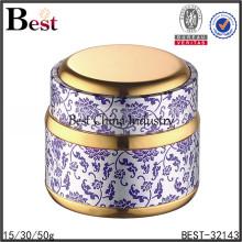 Tarros de crema para cara de vidrio 15/30 / 50g, tarro de crema cosmética vacía, tarros de crema para contenedor