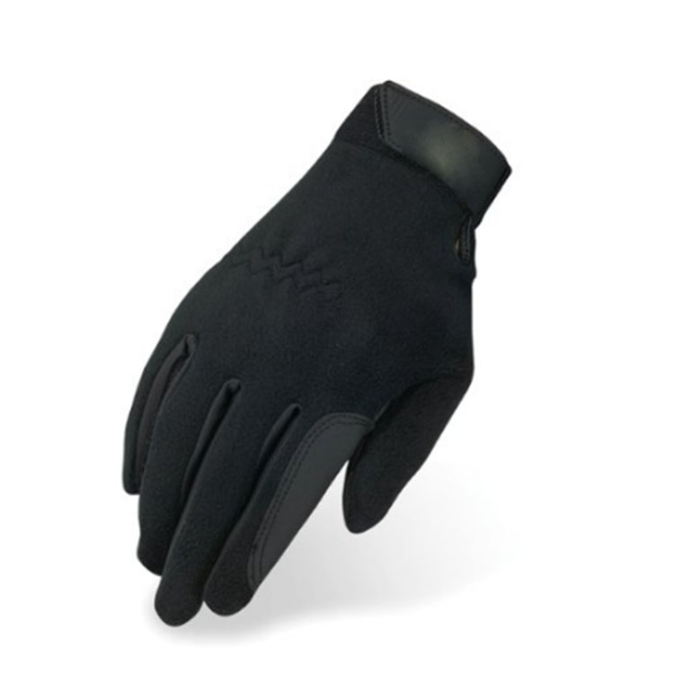 Bike Black Gloves With Buckle