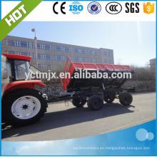 remolque de tractor de la máquina agrícola, Tractor que inclina el remolque Venta caliente