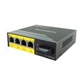 4-poorts POE-switch Gigabit Unmanaged