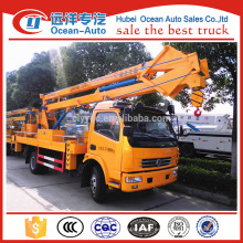 Dongfeng 12-18m alto precio del camión de la plataforma del trabajo aéreo para la venta (altura de trabajo máxima 18 m)