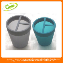 plastic toothbrush cup bathroom accessory