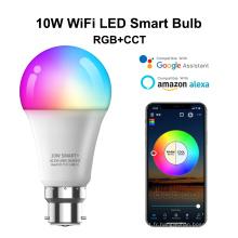 Ampoule LED de commande vocale de musique 10W