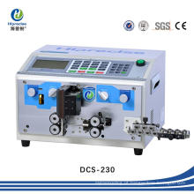 Amplamente utilizado cabo de arame de alta precisão descascar corte máquina de decapagem
