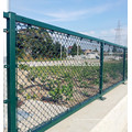 China factory export & wholesale galvanized and pvc chain link mesh,diamond wire mesh fence