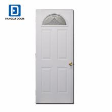Porte en verre décorative demi-lune décorative