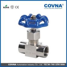 Fabricação de alta pressão Válvula de agulha de aço inoxidável