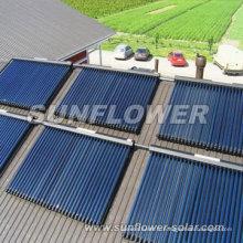 Collecteur solaire en nickel noir