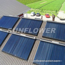 Solar thermal glass