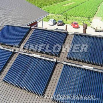 Black nickel coating solar collector