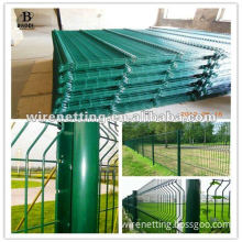 decorative pvc coated t-post for wire mesh fence
