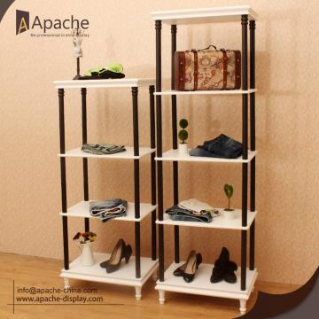Wooden Multi-layer Clothing Store Furniture Combination