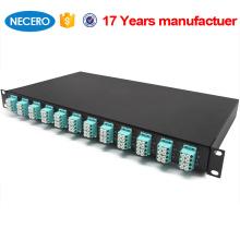 Caja de terminación de fibra óptica de 24 núcleos de distribución óptica exterior o interior