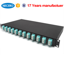 China Optic Manufacturer Supply 2 port fiber patch panel By Necero